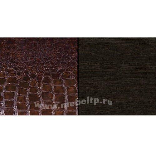 Венге/кожа caiman темный