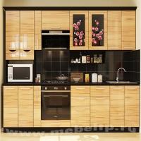 """Модульная мебель для небольшой кухни """"Сакура"""""""