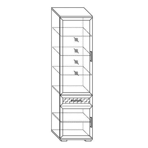 Шкаф 600  Парма-Люкс