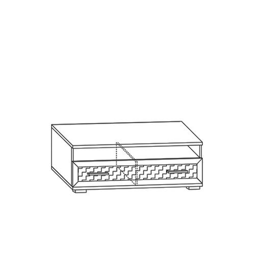 Тумба для аппаратуры с нишей Парма-Люкс