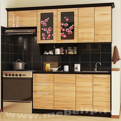 """Кухня """"Сакура-3"""" (Правый вариант)"""