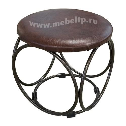 Банкетка круглая металлическая БН 140