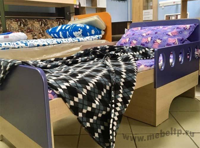 Детская кровать вырастайка Жили-Были (Синий)
