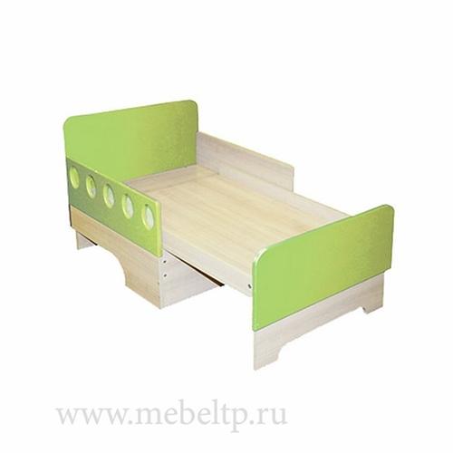 Детская кровать вырастайка Жили-Были (Зеленый)