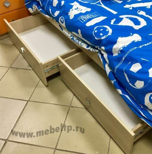 Детская кровать Жили-Были (Синий)