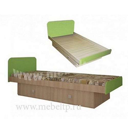 Детская кровать Жили-Были (Зеленый)