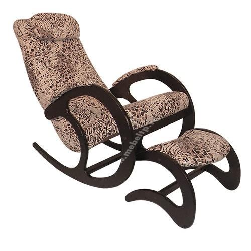 Кресло-качалка Блюз КР-12 с подставкой