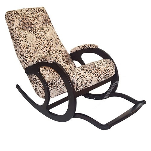 Кресло-качалка Блюзс подножкой КР-12