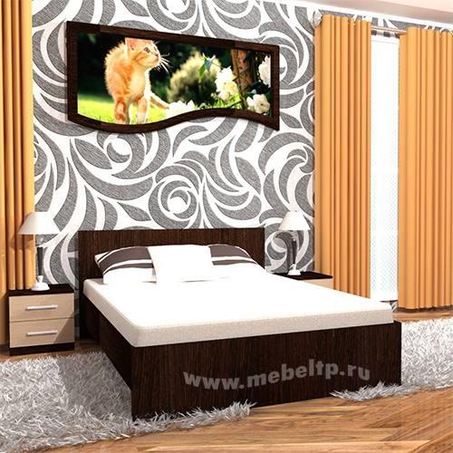 Кровать двухспальная 1400 Румба