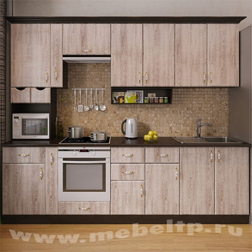 """Кухня """"Скандинавия-5"""" (Правый вариант)"""