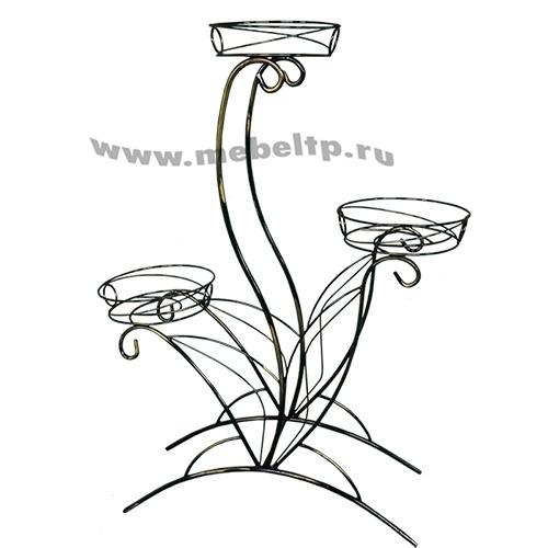 Подставка для цветов Лотос-3