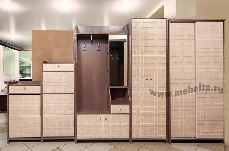 Многофункциональная прихожая Восток 8М Шкаф комбинированный