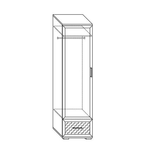Шкаф для одежды Парма-Люкс