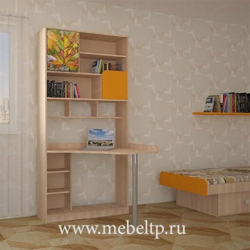 Шкаф-стол Жили-были (Оранжевый)