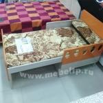 Детская кровать вырастайка Жили-Были (Оранжевый)