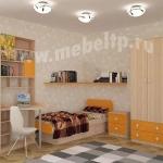Детская кровать Жили-Были (Оранжевый)