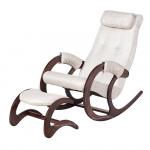 Кресло-качалка с подставкой Блюз Экоткань