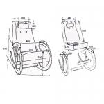 Кресло-качалка Блюз КР-3