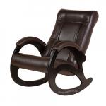 Кресло-качалка Джаз Экокожа (Chocolate)