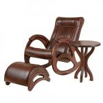 Кресло-качалка 3 в 1 Джаз Экокожа