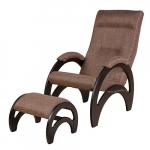 Кресло Сальса с банкеткой Экоткань (Brown)