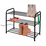 Подставка для обуви (обувница) металлическая 3-х полочная 60 см. (ПДО 35)
