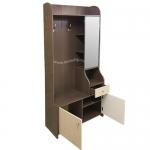 Комбинированный шкаф для небольшой прихожей.