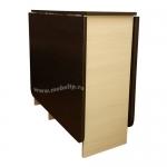 Стол-книжка СТК-5 (Венге-Дуб молочный)