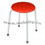 Табурет круглый Крепкий (Красный)