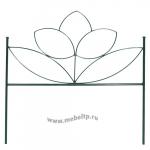 Заборчик «Цветок» (комплект 5 шт.)