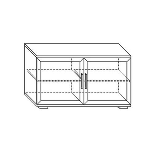 Тумба для аппаратуры высокая 1200 (2 двери) Парма-Люкс