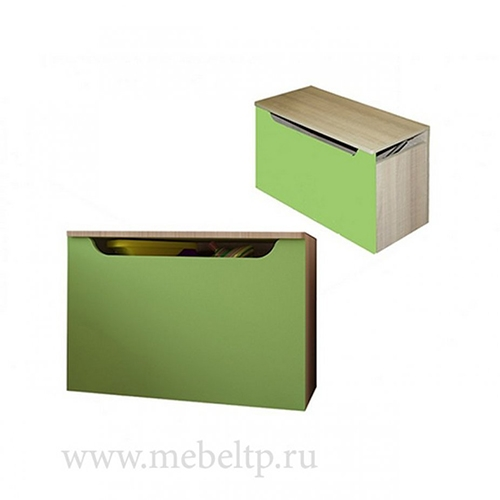 Ящик для игрушек Жили-Были (Зеленый)